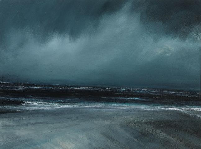 Ruth Brownlee, Rain Sky: Quendale Beach
