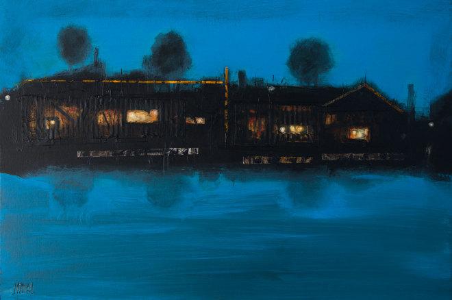 Robert McAulay, House on the Loch iii, 2019