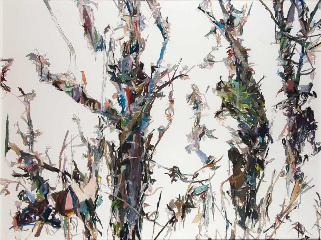 Patricia Cain rgi neac ps, Three Trees, 2015