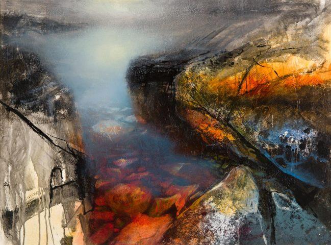Beth Robertson Fiddes, Calm Pool, Assynt, 2019