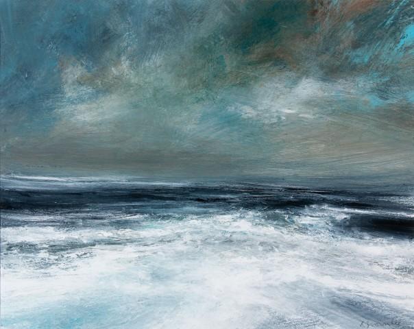 Ruth Brownlee, Storm Seas: Scatness