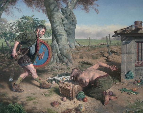 Paul Reid, Odysseus on the Island of Circe, 2018
