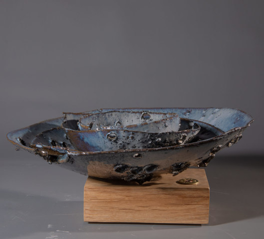 Allison Weightman, Shotgun bowl iii, 2019