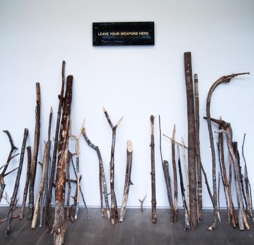 Fredrik Raddum, Leave Your Weapons Here, 2014