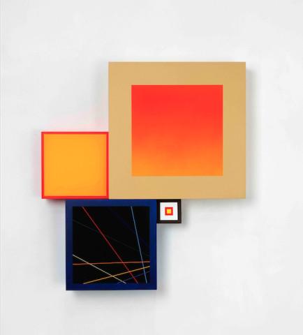Richard Schur, Spatial object (IV) , 2018