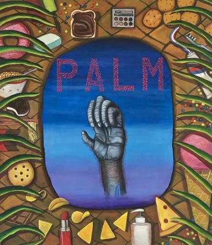 Celina Teague, Palm Spoils, 2018