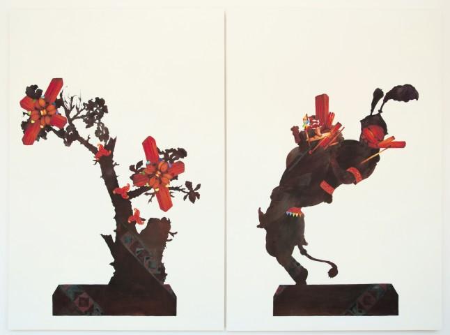 Haroun Haward, Dual of Ornament, 2013