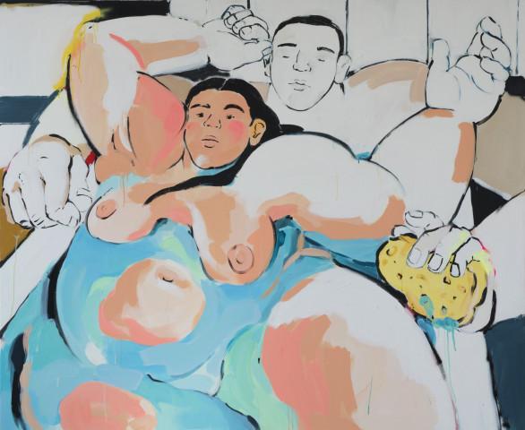 Cristina BanBan, Lovers in the Bath, 2018