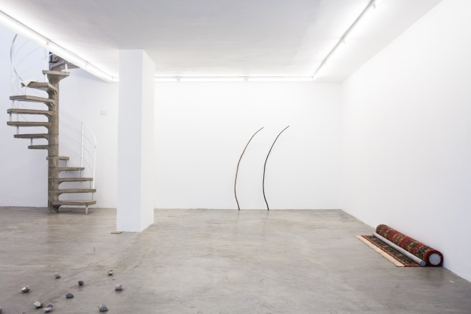 Installation Shot; , to fill the interlude without breaking it, at Boatos BFA, São Paulo