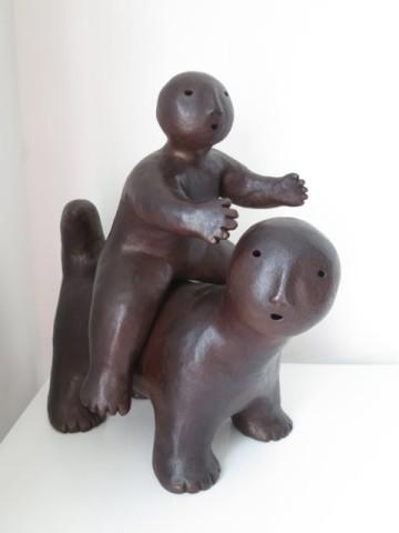Joy Brown 喬伊・布朗, Animal with Rider, 2014