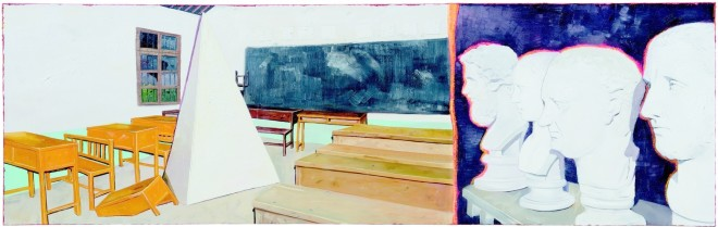 Zhao Yiqian 趙一淺, A Classroom Not So New, 2013