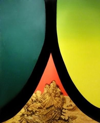 Huang Yan 黃岩, Ren.Character Landscape, 2010