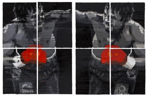 Wen Wu 文倵, Untitled No. 13, 2014-2015