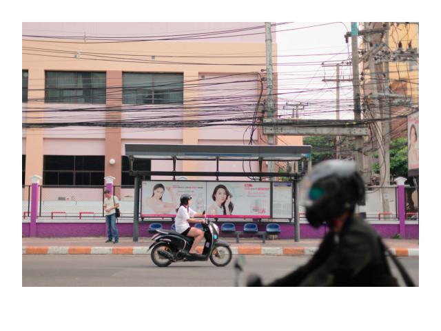 Sutthirat Supaparinya 蘇圖西亞・蘇芭芭恩雅, Unintentionally Waiting #4 無意地等待 4, 2017