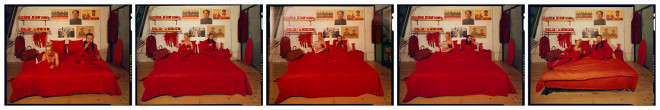 Cang Xin 蒼鑫, Introject Series - Red: Hotspot, 2004