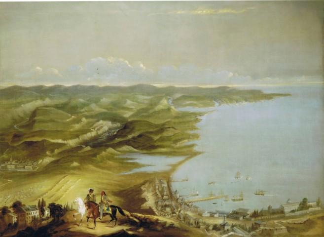 English School, circa 1855, Four views of the Crimean Peninsula