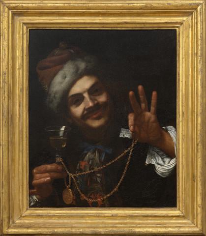 Pietro Bellotti, A portrait of the artist as laughter