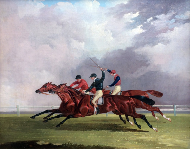 Nutwith, Cotherston & Prize Fighter, Doncaster, St. Leger, 1843