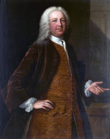 Thomas Frye, Portrait of Thomas Fane, 8th Earl of Westmorland, 1740