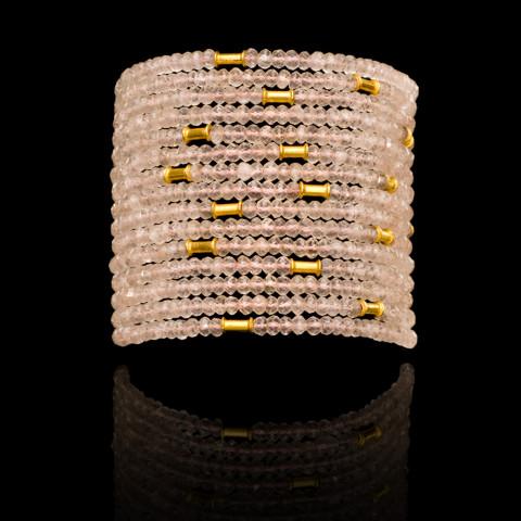 Rose Quartz String Bracelet