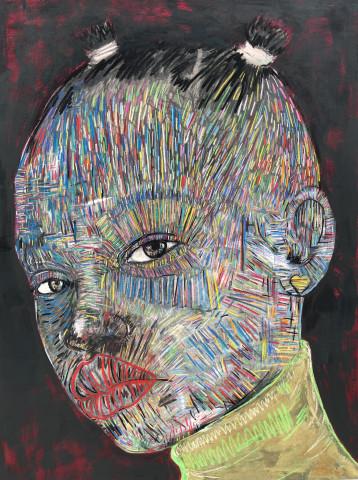 Nelson Makamo, FORTITUDE, 2021