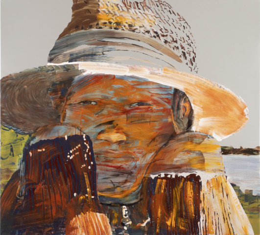 Erika Adamsson, In Shadow of Straw Hat, 2018
