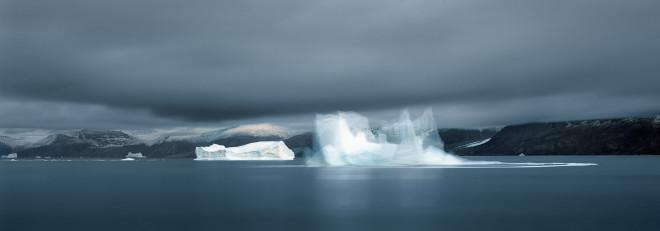 Falling Iceberg