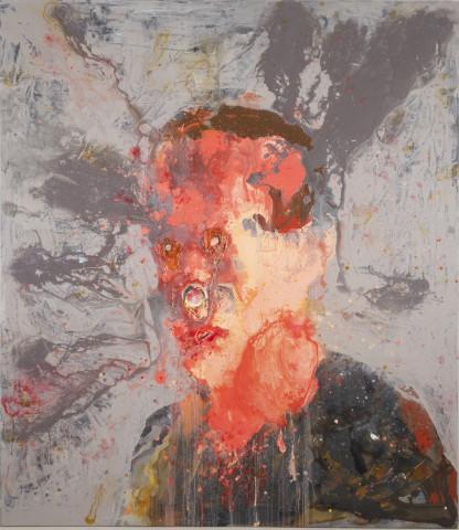Petri Ala-Maunus, Self-portrait of a Painter I, 2018