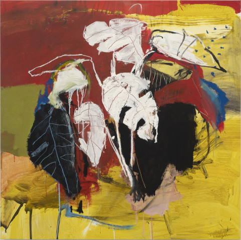 Luis Olaso, Composition for White Plant, 2020