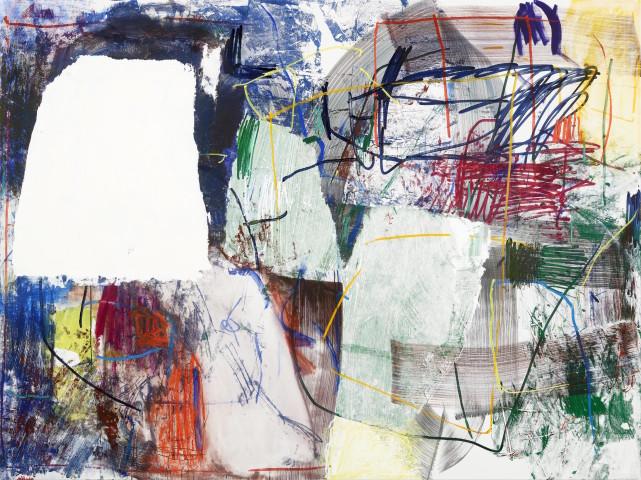 Ina Gerken, Untitled (Blank Spots 5), 2018