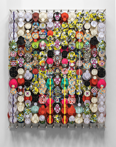 Jacob Hashimoto, The Heat Death of the Universe, 2021
