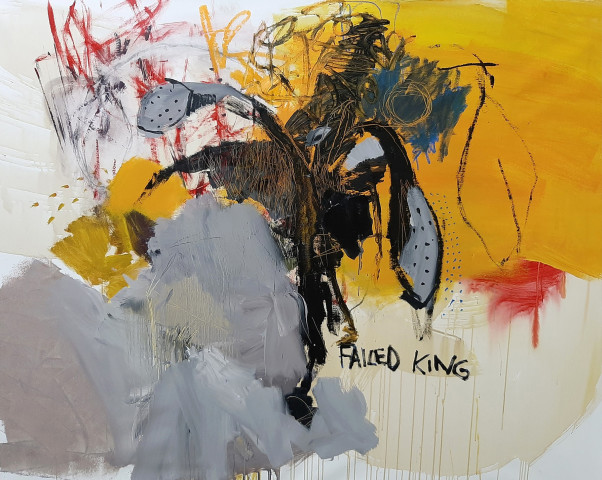 Luis Olaso, Failed King, 2019