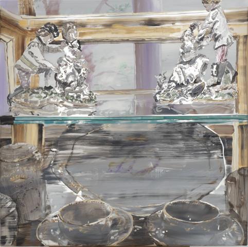 Erika Adamsson, Porcelain Cabinet, 2020