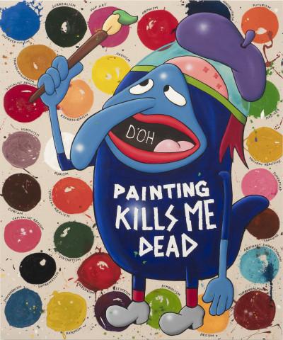 Riiko Sakkinen, Painting Kills Me Dead, 2019