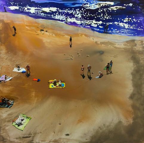 Erika Adamsson, Sand from Sahara, 2017
