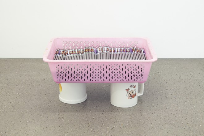 Mitchell Anderson, Chopstick Basket Piece, 2016
