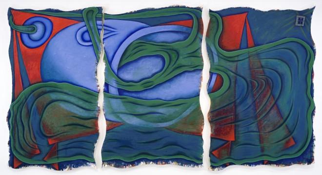 Elizabeth Murray, Red Corner, 1999