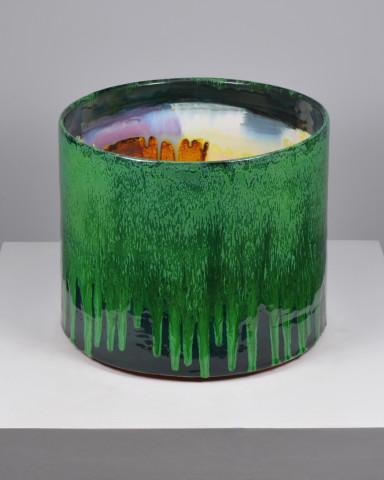 Cylinder (Dark Green Exterior)