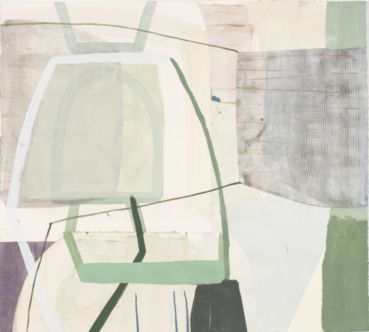 Ky Anderson, Pale Cityscape, 2017