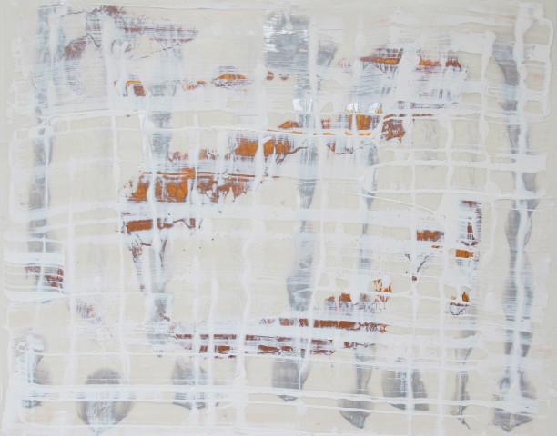 Gudrun Mertes-Frady, Between the Lines #3, 2018