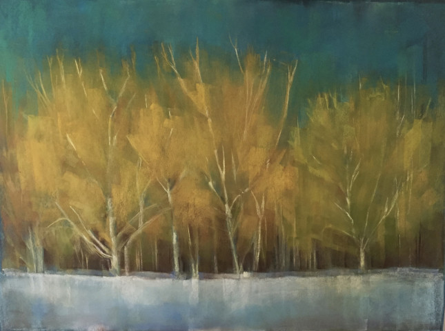 Kathleen Dunn, Cold October Day , 2017