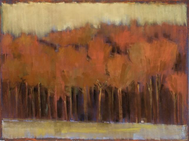 Kathleen Dunn, Tree Line/October, 2015