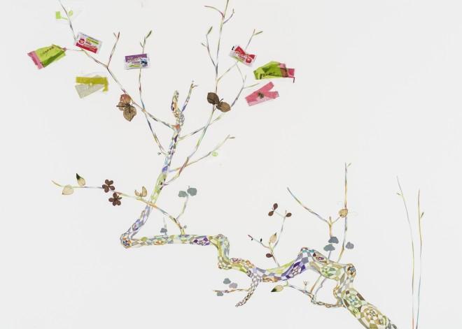 The Rimpa Plum Trees