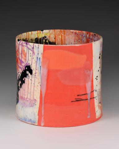 Cylinder (Pink Texture)