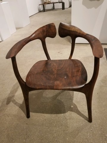 Brian Fireman, Swallowtail Chair - Claro Walnut