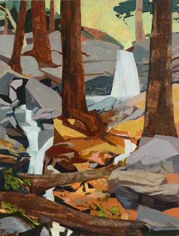 Mariella Bisson, Homer's Falls, Streambed