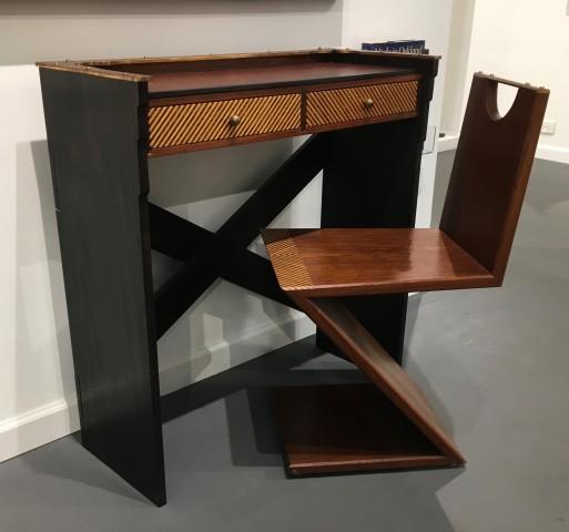 Garry Knox Bennett, Little Desk with Matching Z Chair