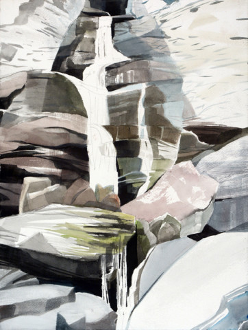 Drop Shadow Falls, Field Painting