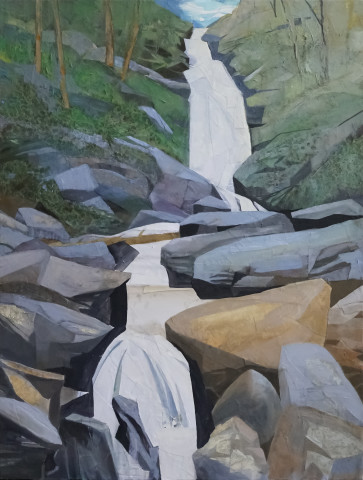Tom's Creek Falls, North Carolina