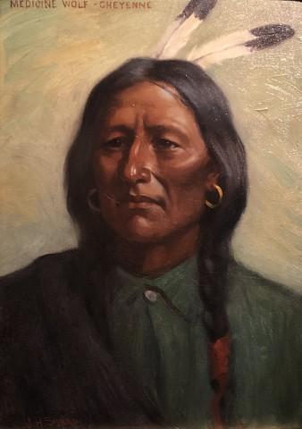 Medicine Wolf-Cheyenne